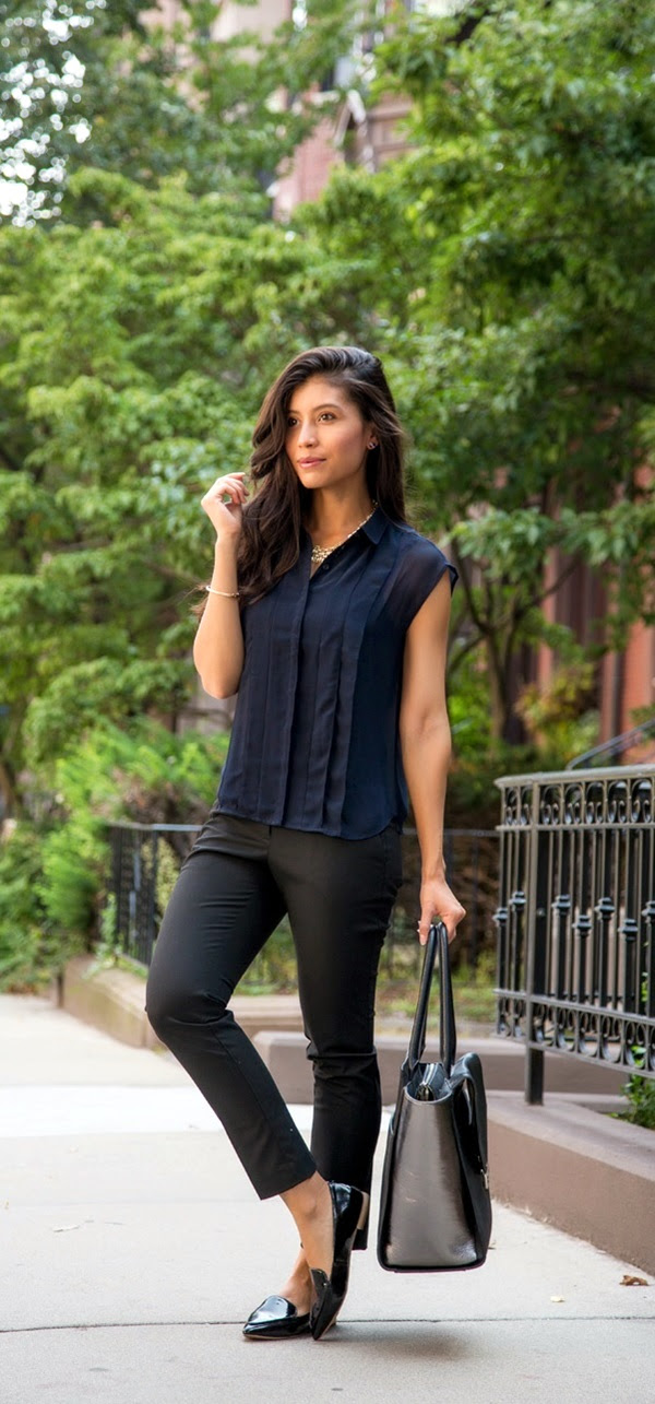 45 nonboring casual business attire for women to wear