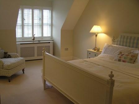 seaside apartment modern bedroom