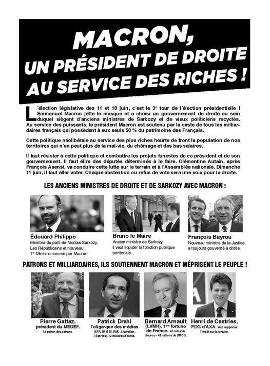 """Résultat de recherche d'images pour """"macron president des riches"""""""