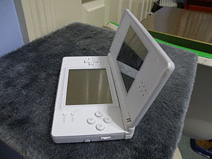 A 2006 Nintendo DS Lite, already beginning to ...