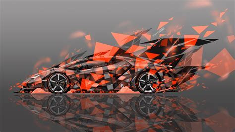Lamborghini Centenario Side Super Abstract Aerography Car 2016   el Tony