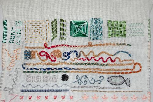 tast 2012 #10: running stitch