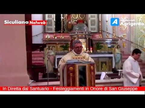 La Festa di San Giuseppe, Siculiana - Santa Messa - Live