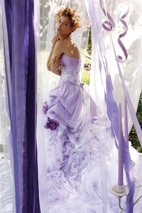 Lilac wedding dress   Color   Pinterest   Lilac wedding