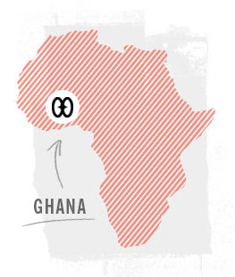 Della in Ghana, West Africa