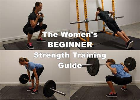 womens beginner strength training guide