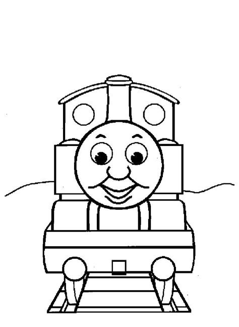 Thomas The Train Coloring Pages Ideas | Train coloring