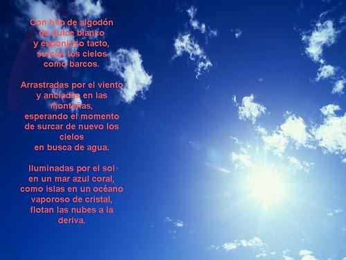 Poesía las nubes