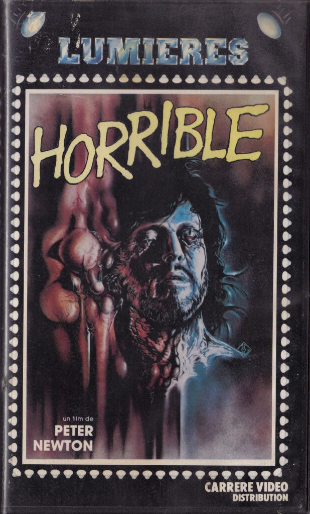 Horrible (VHS Box Art)