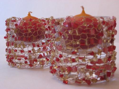 Golden votives