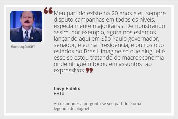 Levy Fidelix - debate - 2 (Foto: Reprodução)
