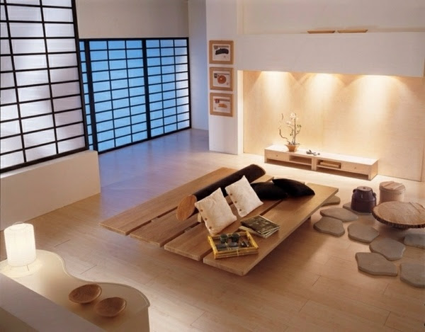 Japanese style house interior - how to create a balanced ...