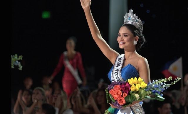 MISS UNIVERSE 2015. Miss Filipina dinobatkan sebagai Miss Universe 2015. Foto dari Twitter/@missuniverse