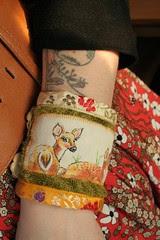 cute deer cuff from Violet Bella