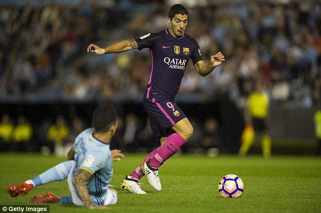 The phenomenal striker Luis Suarez scored 59 goals in 53 games last season for Barcelona