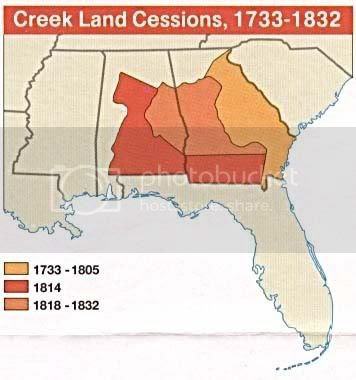 Creek Indian Lands