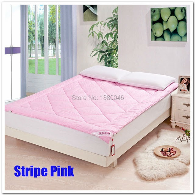HOT OFFERS New White Yellow Pink 100% Mulberry Silk Filled Mattress Bedding Topper Pad Cover Spring 3KG HOT PRODUCT TODAY Best Price H2 BUY Now LIMITED DISCOUNT