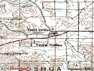 Yucca Valley California Map Time Zone Map