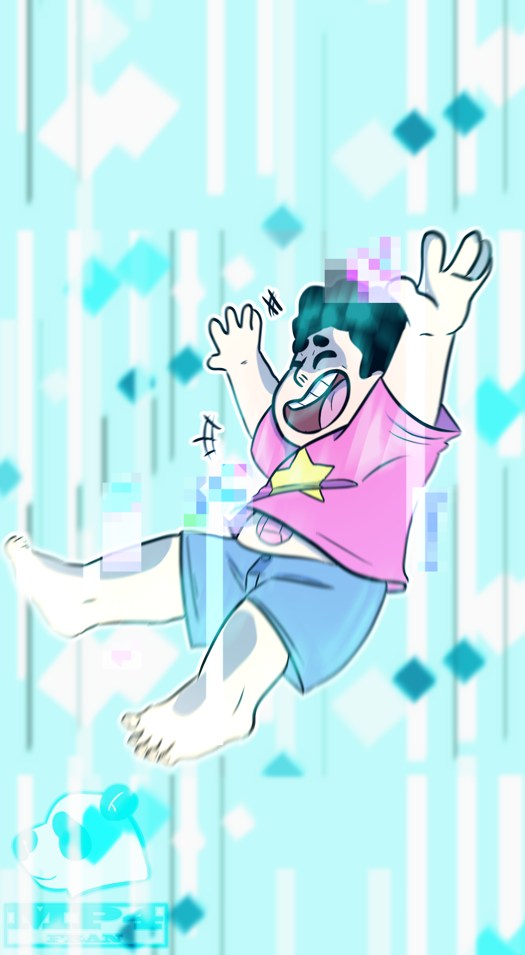 why do i always draw steven barefoot? because he always wears gosh darn flip flops and i hate drawing them im pretty sure he would always lose them, especially when he goes on missions with the cg