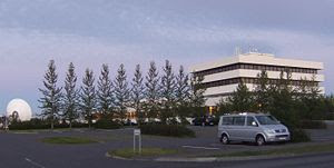 Headquarters of RÚV, the Icelandic National Br...