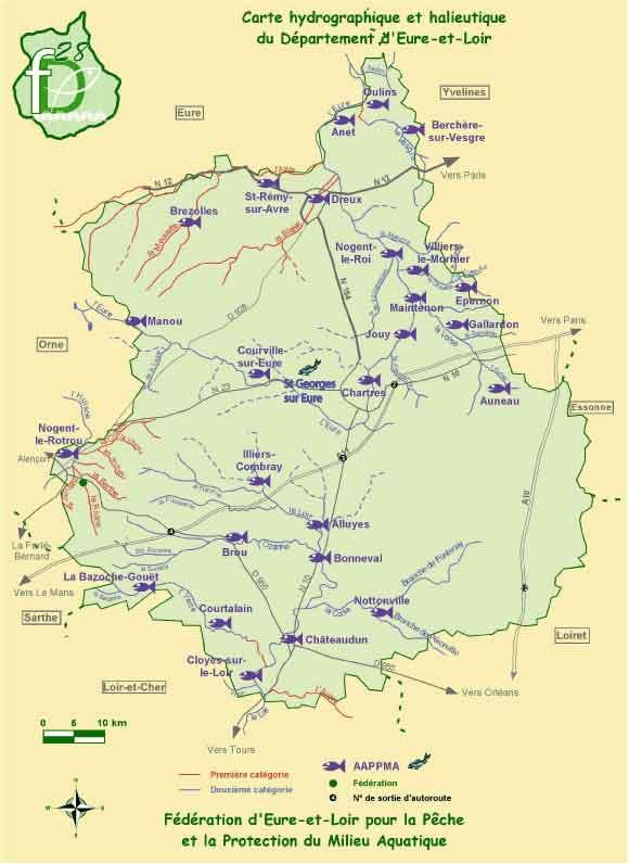 Aappma De Leure Et Loire 28 Domaine Piscicole