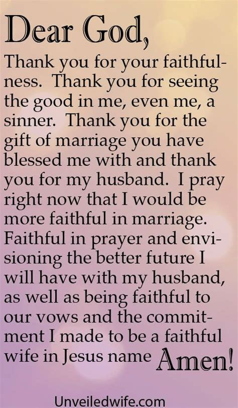 Prayer Of The Day   Being Faithful In Marriage   why didnt