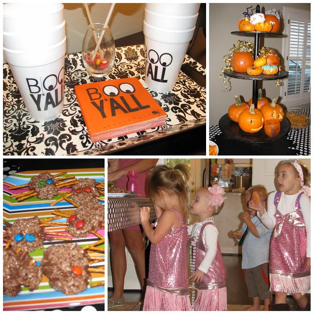 party food and decor