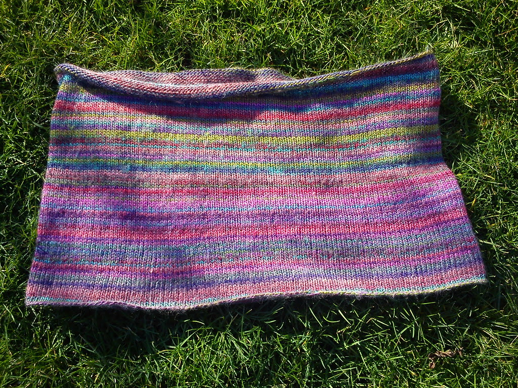 Finished snood :-)