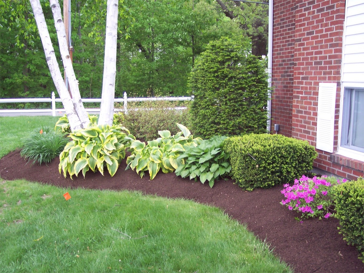 Landscaping Ideas Mulch Landscape Ideas For Small Yards