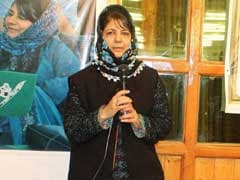 Mehbooba Mufti, BJP Stake Claim To Form Government In Jammu And Kashmir