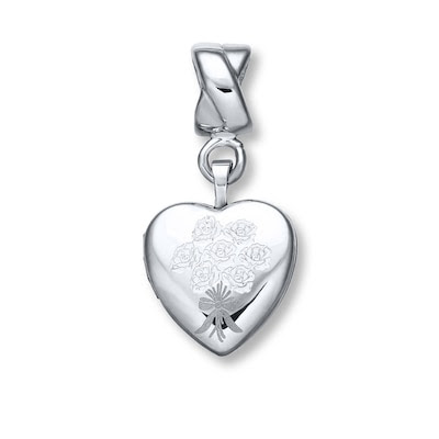 Charmed Memories Bridesmaid Locket Charm Sterling Silver