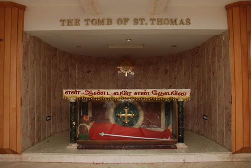 Tomb of St. Thomas the Apostle