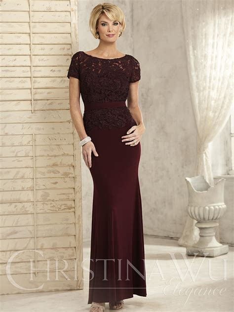 Plus size special occasion dresses Christina Wu Elegance
