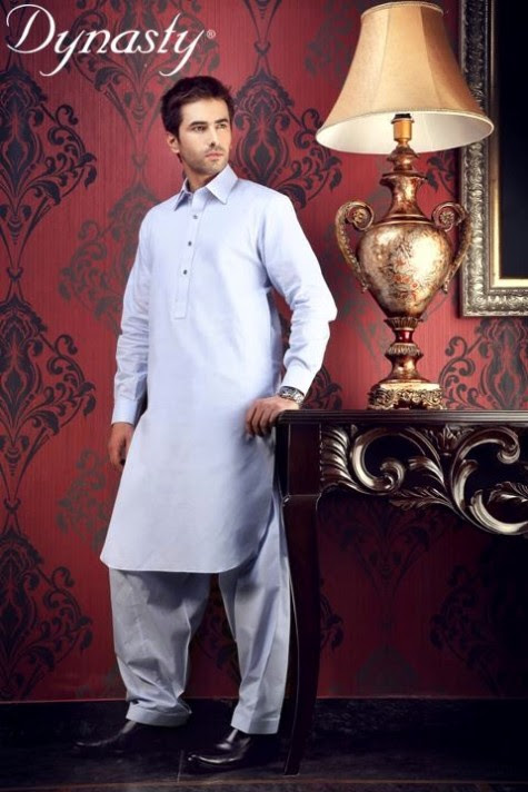 Mens-Wear-Cotton-Embroidered-Kurta-Pajama-By-Dynasty-Fabrics-New-Fall-Collection-2013-14-10