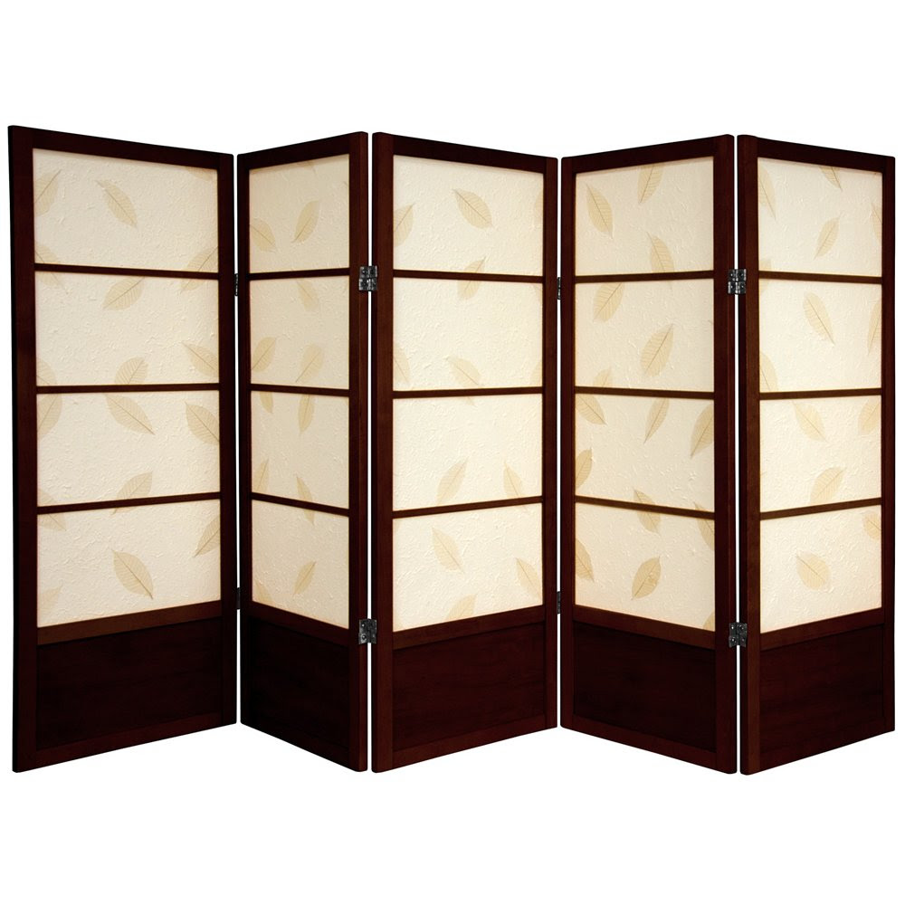 Room Dividers 2014 Oriental Furniture 4 Ft Tall Low Botanic Shoji