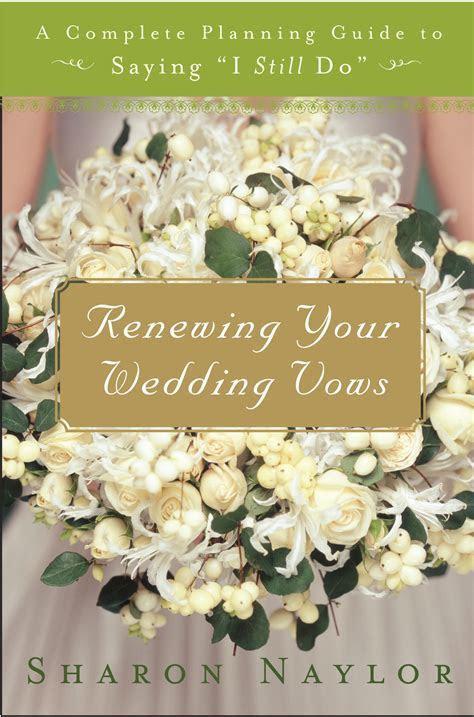 renewing wedding vows   Sharon Naylor Wedding Books