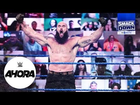 REVIVE SmackDown en 6 minutos: WWE Ahora, Ene 30, 2020
