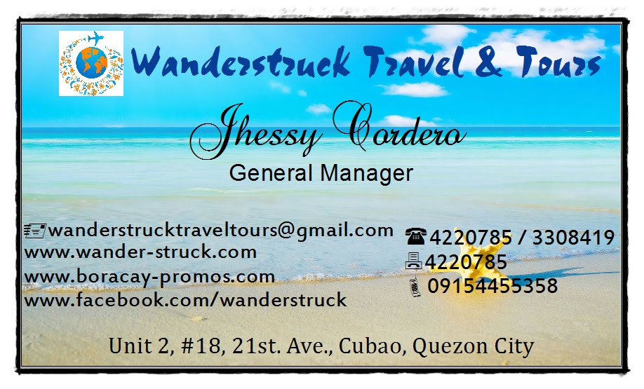 Wanderstruck Travel & Tours Business Card