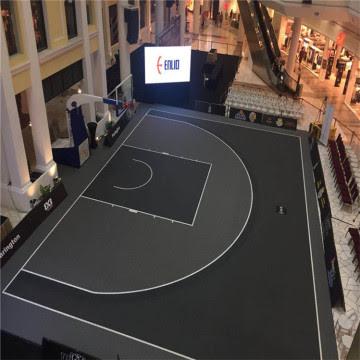 Chine FIBA 3X3 Tapis de terrain extérieur de basketball d ...