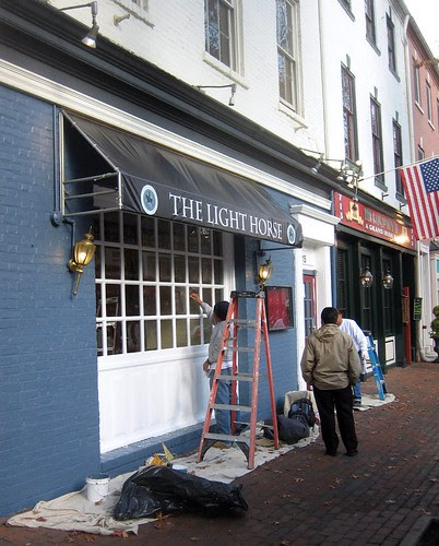 Finishing touches: The Light Horse