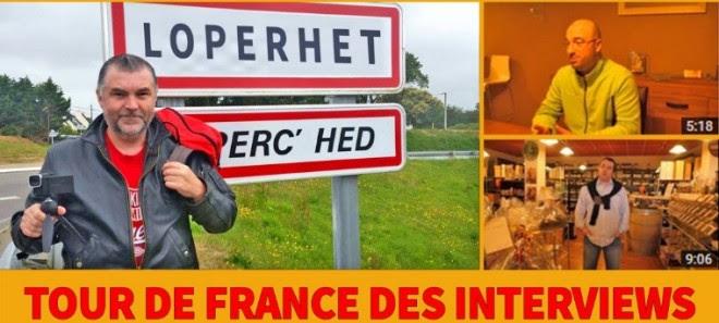 Jean-Michel Le Bot parcourt la France