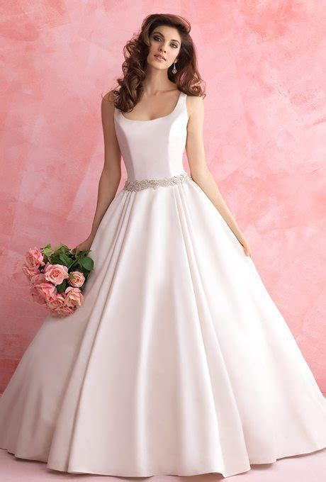 Simple Satin Wedding Gowns for your Second Time Around