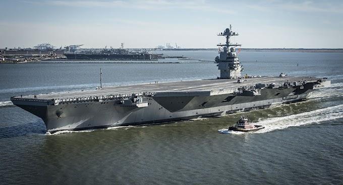 O navio de guerra mais caro dos EUA não pode transportar munição
