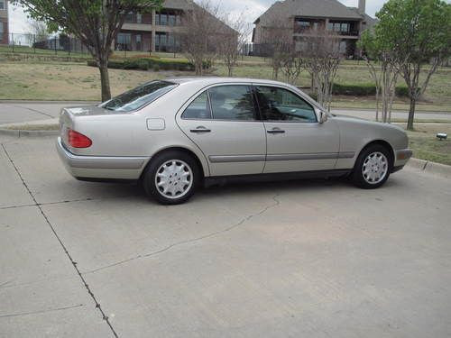 Sell used 1996 Mercedes E320 smoke silver in very good ...