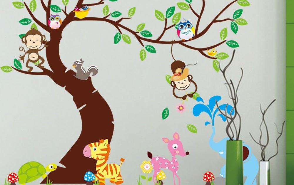 Wandtattoo baum babyzimmer badezimmer ideen 2012 - Wandtattoo fur babyzimmer ...