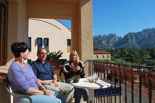 Kaffe på terrassen