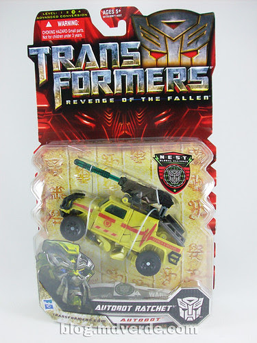 Transformers Ratchet Deluxe RotF NEST - caja