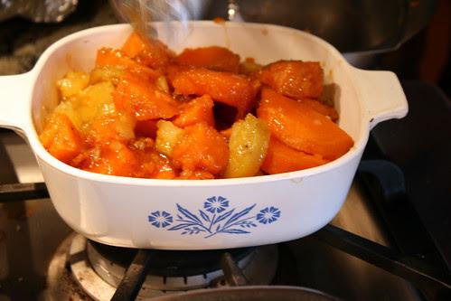 Thanksgiving sweet potatoes 084