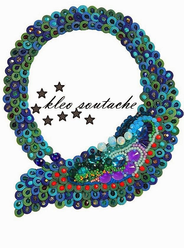 Sutasz Kleo /Soutache jewellery: EXOTIC DREAM II