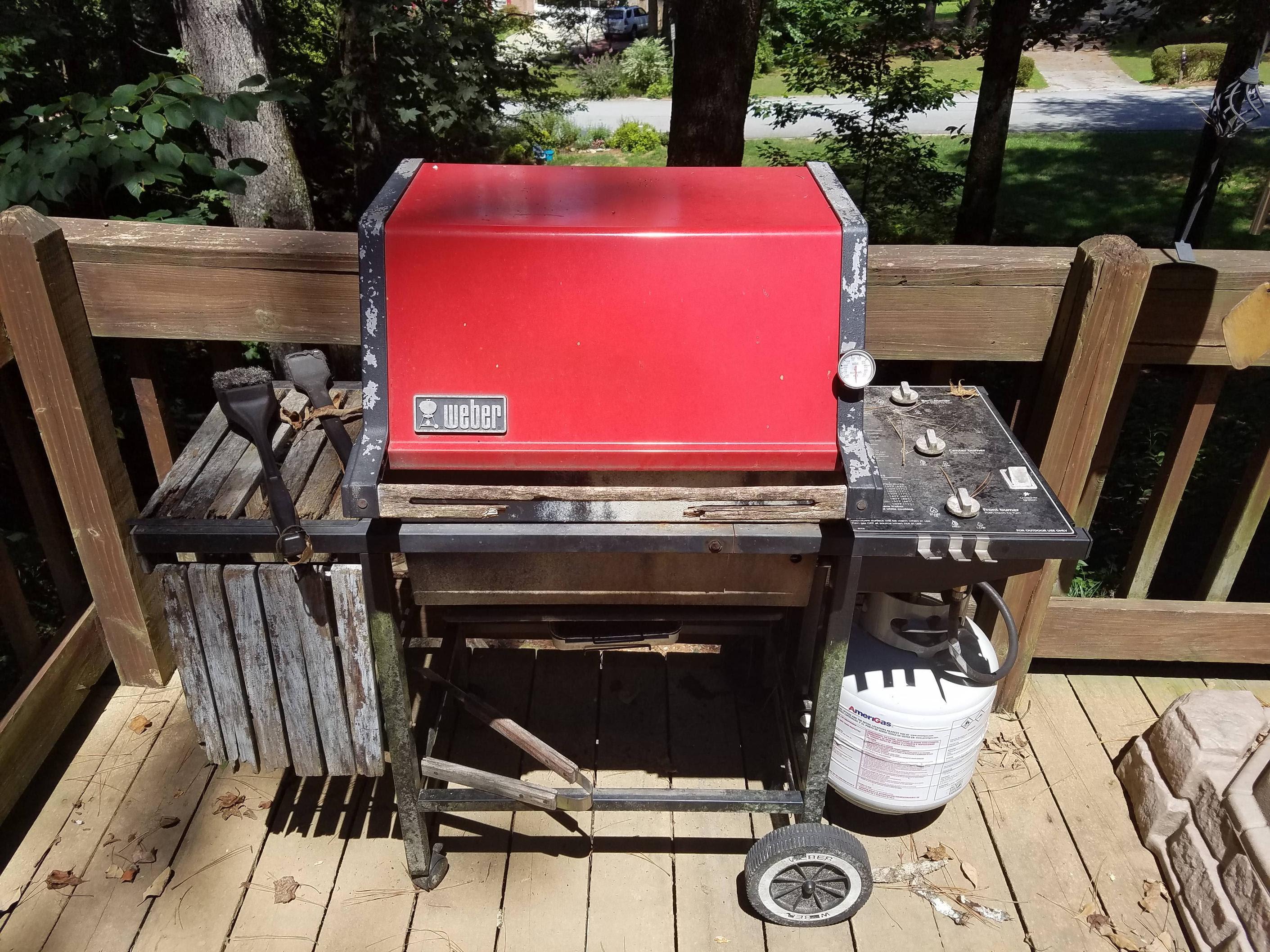 Weber Genesis Gas Grill Restoration DIY